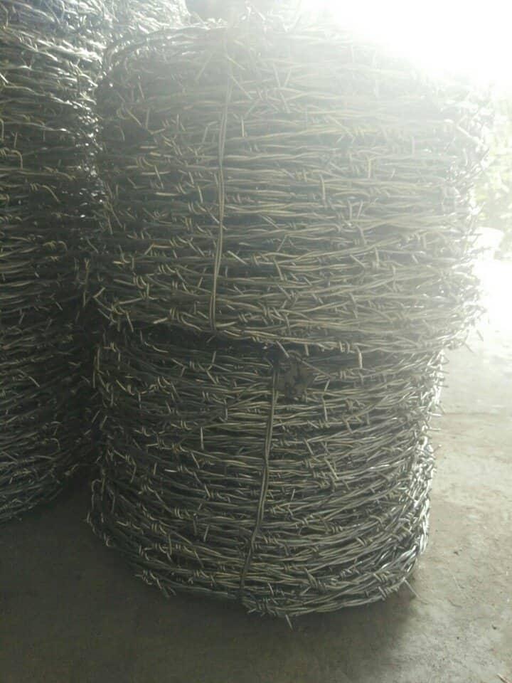 Xưởng đan kẽm gai hàng rào