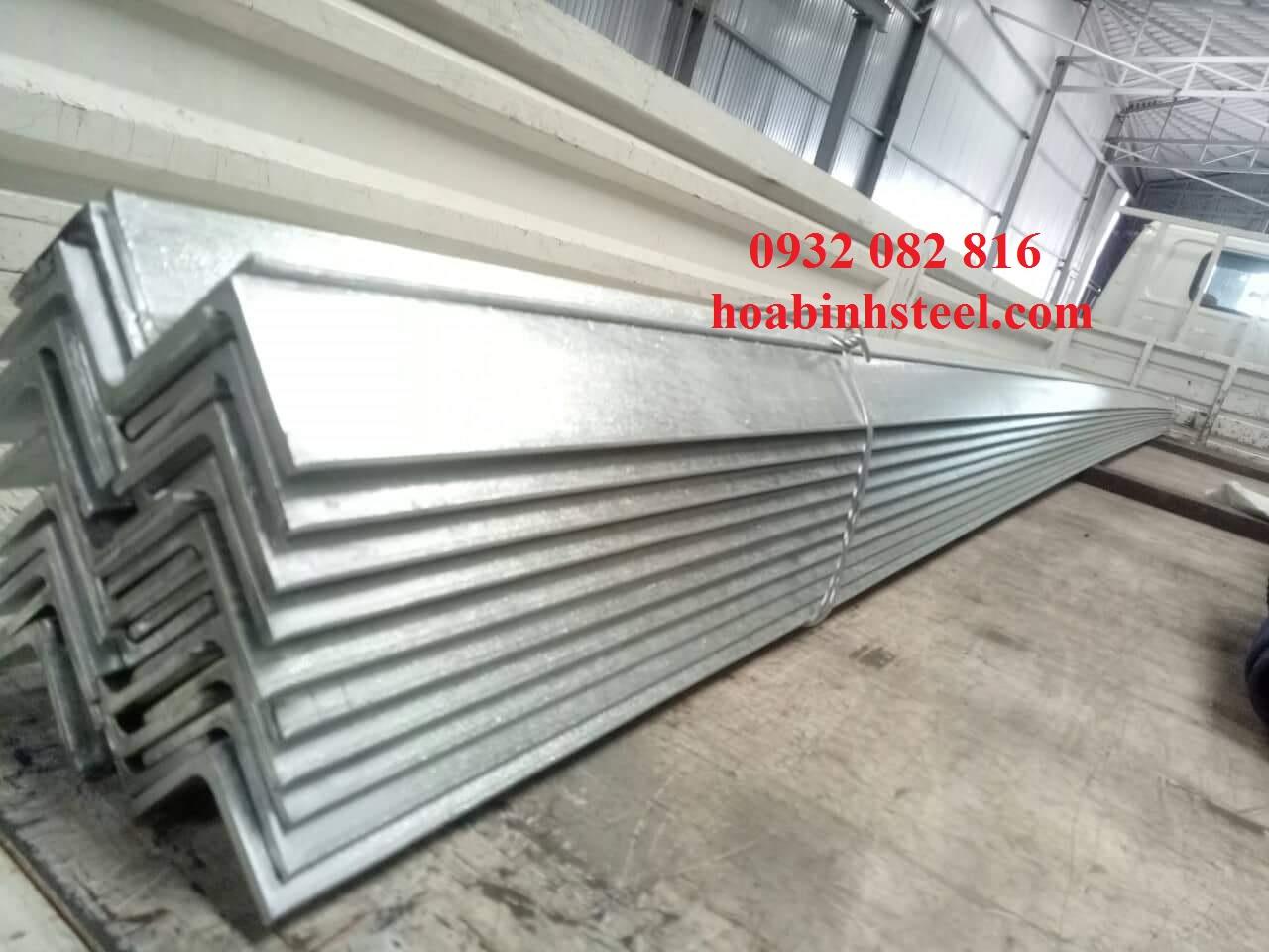Công ty phân phối sắt V25 nhúng kẽm giá cạnh tranh